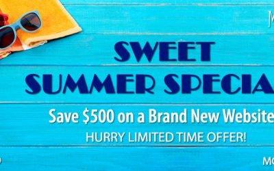 Sweet Summer Website Special!