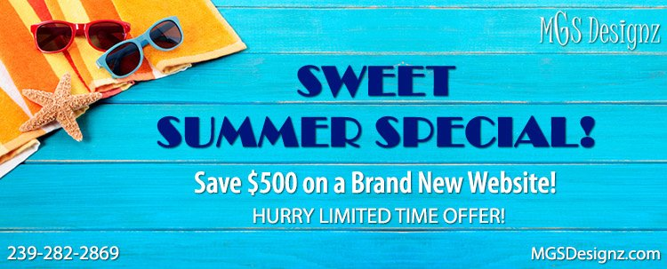 Sweet Summer Website Special!