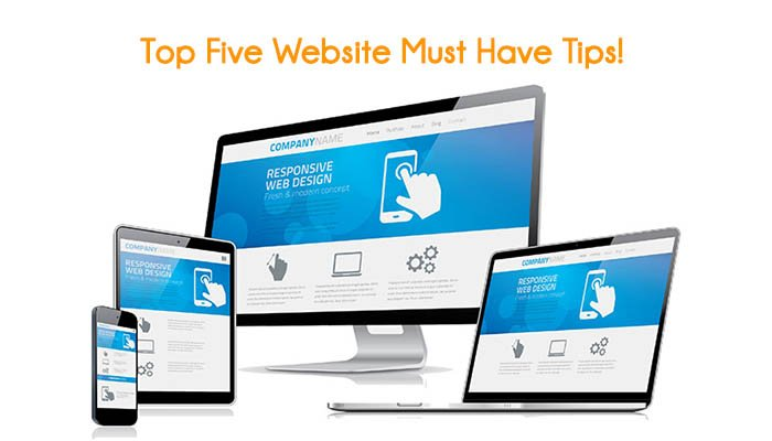 Top Five Website Must Haves